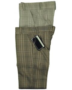 MO & DAVE Boys Skinny Fit Flat Front Adjustable Waist Dress Pant